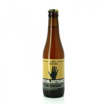 Bière ambrée de style Saison légère et aromatique - Brasserie Artisanale De Ranke