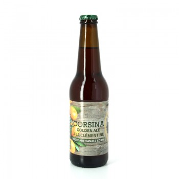 Bière Blonde à la Clémentine - Brasserie Artisanale Corsina