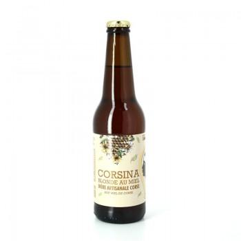 Bière Blonde au Miel 33cl - Brasserie Artisanale Corsina