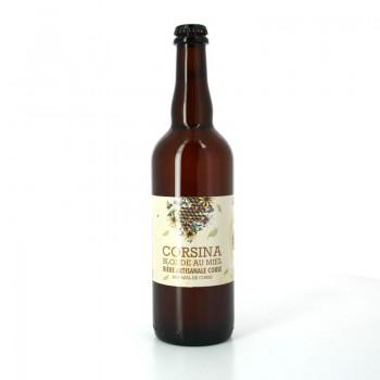 Bière Blonde au Miel 75cl - Brasserie Artisanale Corsina