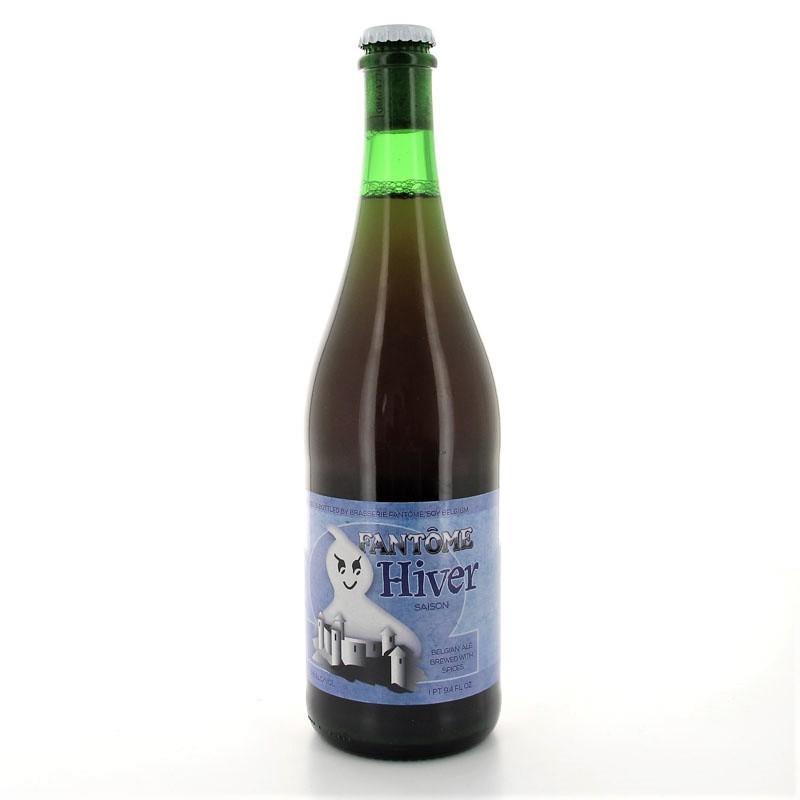 Bière de saison Hiver Brasserie Fantôme 75cl