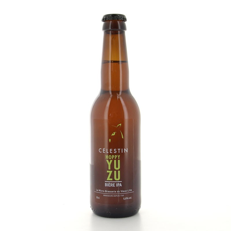Bière Hoppy Yuzu brasserie du Célestin 33cl