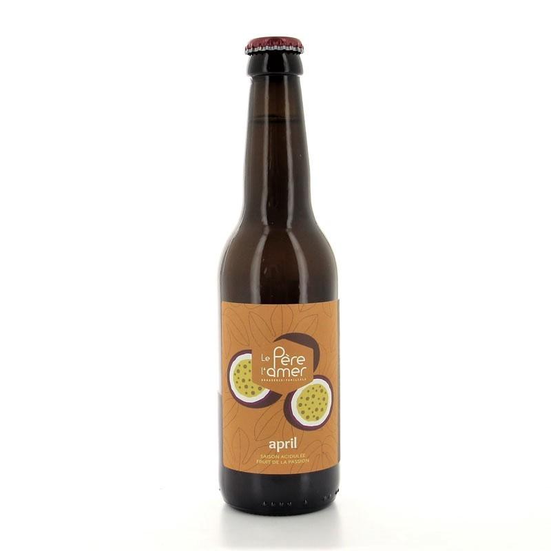 Bière de saison April Le Père l'Amer 5% 33cl