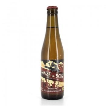 Bière triple jambe-de-bois De La Senne 8% 33cl