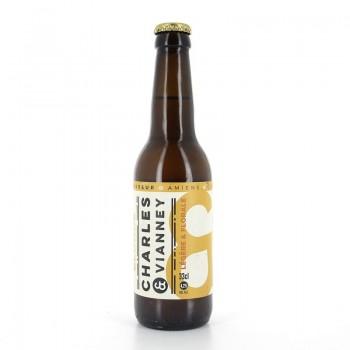 Bière ambrée La Vilaine Rousse Brasserie Charles & Vianney 33cl