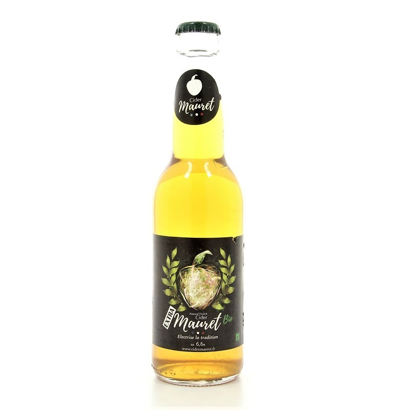 Cidre extra bio Le Robuste Mauret 33cl