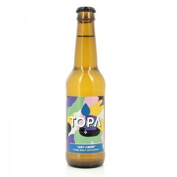 Cidre brut Art Cider Topa 6% 33cl