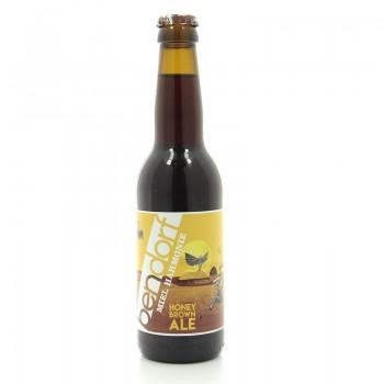 Bière artisanale Brown Ale Miel Harmonie Bendorf 7% 33cl