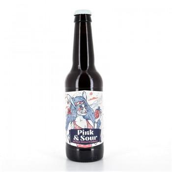 Bière Pink & Sour D'Orville 33cl