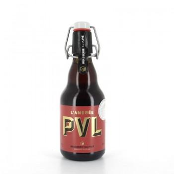 Bière PVL Ambrée Brasserie du Pavé 6% 33cl