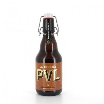 Bière PVL La Tourbée Brasserie du Pavé 75cl