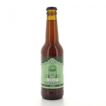 Bière ambrée Riou Zoumaï 5% 33cl