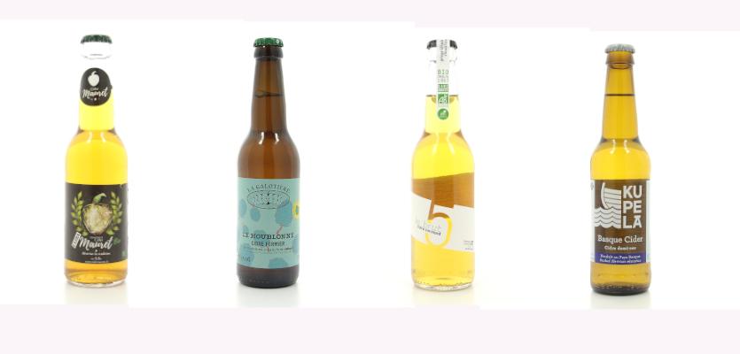 Cidre français modernes